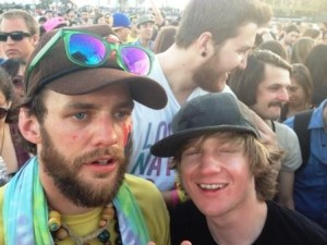 chris and alex at modest mouse