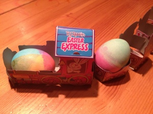 easter egg train